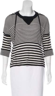 Sonia Rykiel Striped Knit Top