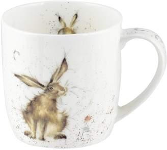 Portmeirion Wrendale Good Hare Day Mug (hare) By Royal Worcester - Single Mug