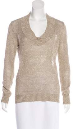 Rivamonti Linen Metallic Sweater