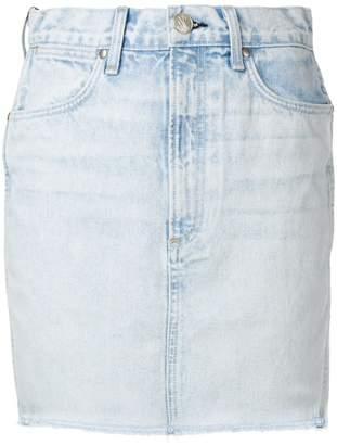 Rag & Bone mini denim skirt