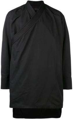 D.Gnak diagonal zip asymmetric jacket