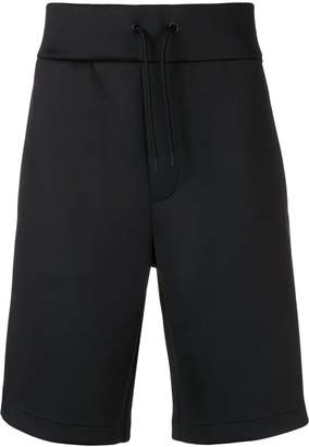 Emporio Armani structured snap button shorts