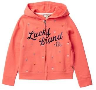 Lucky Brand Greta Hoodie (Big Girls)