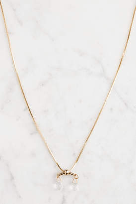 Ariana Ost Short Snake Chain Y Necklace