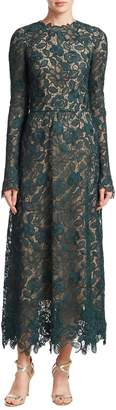 Monique Lhuillier Women's Lace Dress