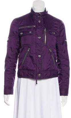 Marc by Marc Jacobs Quilted Zip-Up Jacket
