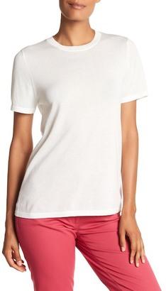 Anne Klein Short Sleeve Sweater Tee $69 thestylecure.com