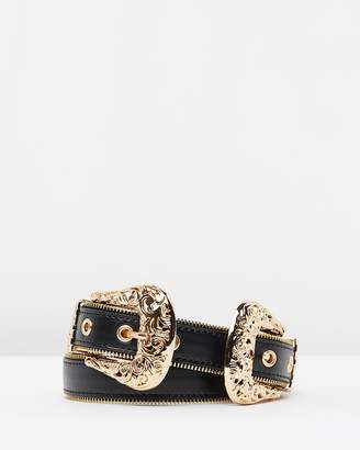 Missguided Double Buckle Belt