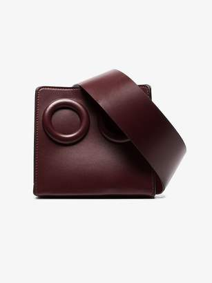 Boyy Burgundy Deon 4 ring leather belt bag