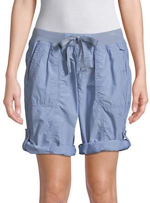 Calvin Klein Convertible Cargo Bermuda Shorts