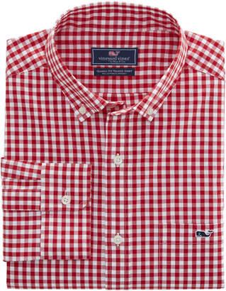 Vineyard Vines Carleton Gingham Classic Stretch Tucker Shirt
