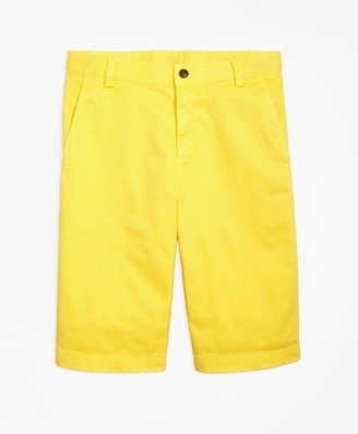 Brooks Brothers Washed Cotton Stretch Chino Shorts