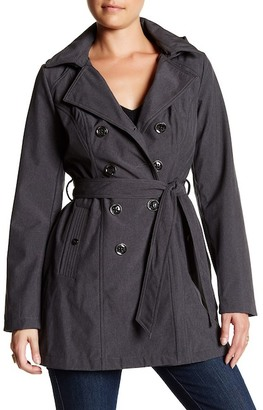 Sebby Heathered Trench $120 thestylecure.com