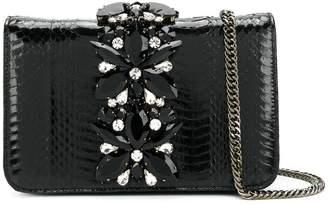 Emanuela Caruso gemstone embellished small crossbody bag