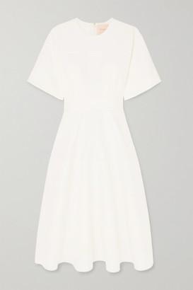 Roksanda Maja Crepe Midi Dress - Ivory