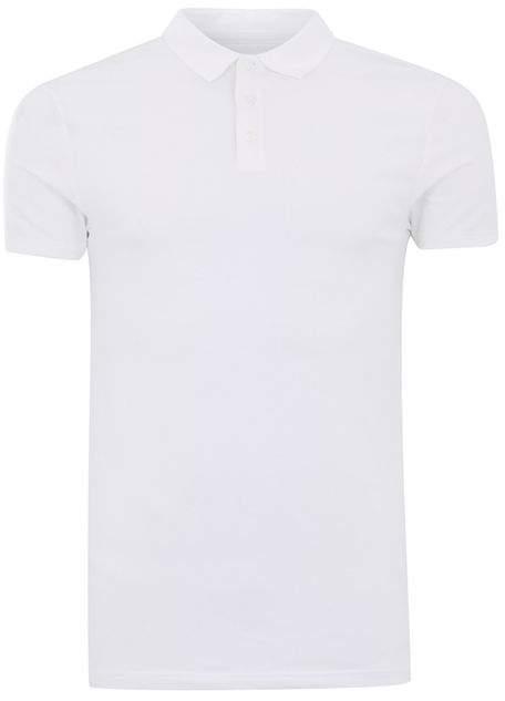 Polohemd im Ultra-Ringer-Style, weiß