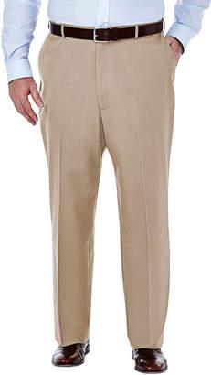 Haggar Premium No Iron Classic-Fit Flat-Front Khakis - Big & Tall