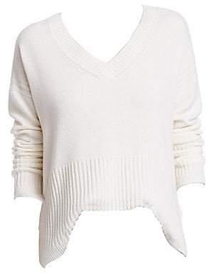 Derek Lam 10 Crosby Women's Cashmere V-Neck Sweater