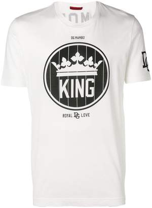 Dolce & Gabbana King crew neck T-shirt