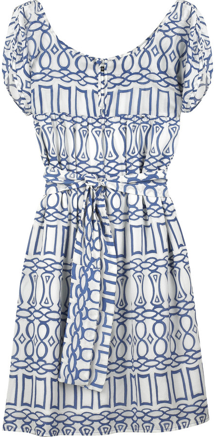 Elissa Coleman Nightingale printed tunic