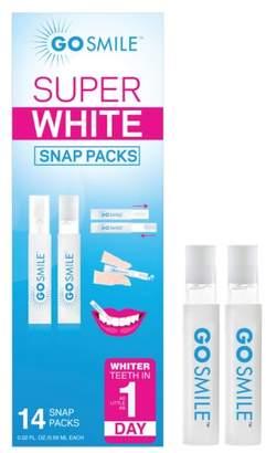 Go Smile R) Super White Snap Packs