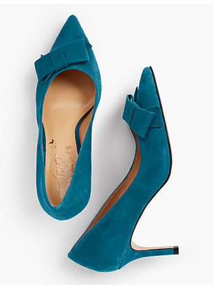 Talbots Erica Bow-Detail Pumps