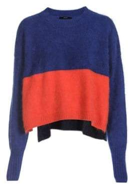 Diesel Colourblock Crewneck Pullover