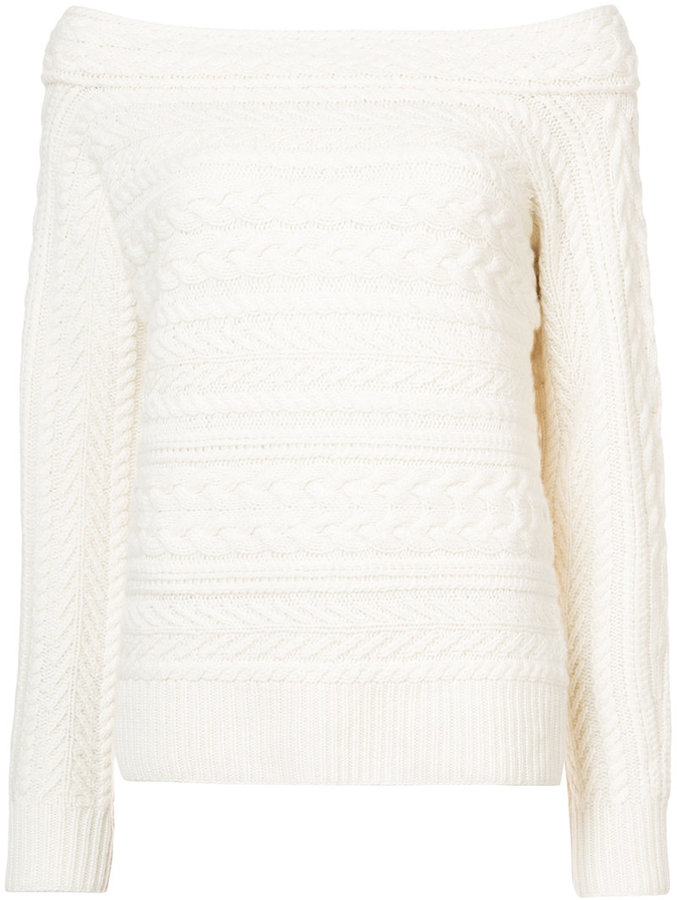 Ralph Lauren Collection boat neck knitted jumper
