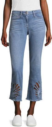 3x1 High Rise Flared Cropped Jean