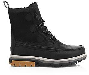 Sorel Men's Caribou Atlis Shearling-Lined Waterproof Leather Boots
