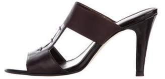 Tahari Leather Slide Sandals