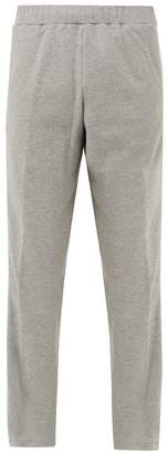 Valentino Logo Side Stripe Track Pants - Mens - Grey