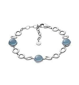 Skagen Jewellery Sea Glass Stainless Steel Bracelet - Silver