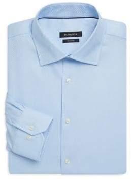 Bugatchi Shaped-Fit Cotton Dress Shirt