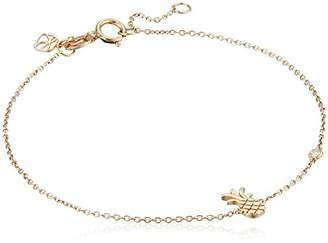 Syd by SE Pineapple Bracelet with Diamond Bezel
