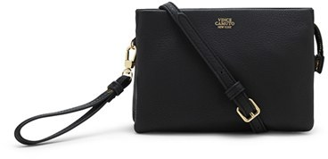 Vince Camuto 'Cami' Leather Crossbody Bag - Black