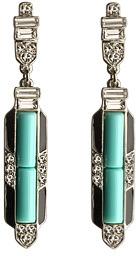 Kenneth Jay Lane Art Deco Earrings