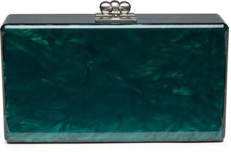 Edie Parker Jean Solid Acrylic Clutch Bag
