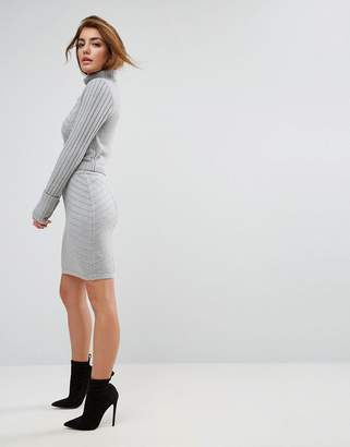 Asos DESIGN Co-ord Mini Skirt With Seam Detail