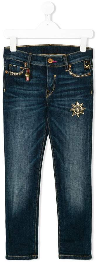 Lapin House jewel embellished jeans