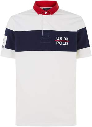 Polo Ralph Lauren Stripe Emblem Polo Shirt