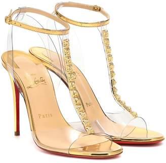 Christian Louboutin Jamais Assez 100 PVC sandals