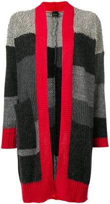 Pinko long striped cardigan