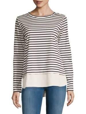 Stripe Long-Sleeve Top