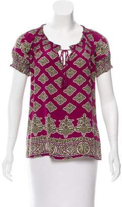 Joie Silk Printed Top