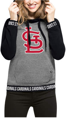 '47 Brand Women's St. Louis Cardinals Revolve Hooded Sweatshirt $75 thestylecure.com