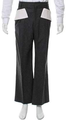 Givenchy Wool Pleated Pants