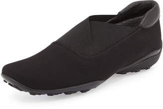 Sesto Meucci Udaya Waterproof Slip-On, Black $105 thestylecure.com