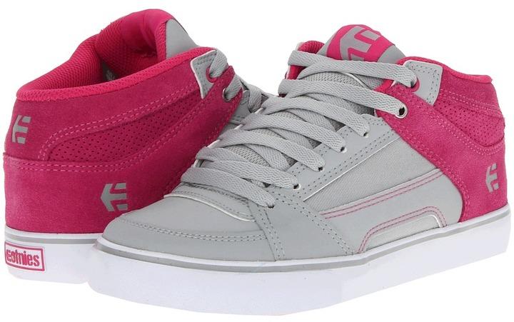 Etnies RVM W (Light Grey/Pink) - Footwear