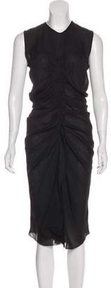 Isabel Marant Ruffled Silk Dress w/ Tags